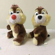 "Disneyland Chip And Dale Plush Walt Disney World Parks Chipmunk Stuffed 9"""