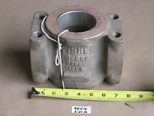 """USED FISHER 3"""" 600 CONTROL VALVE BODY 3P582033092  1295 9934E  CF8M 316SS"""
