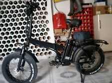 Foldable Electric Bike Fatbike 20 inch with big Tires