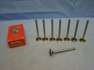 1934 - 1942 Nash Ambassador EXHAUST Valve Set 8 Advanced Eight 261 45879 NORS