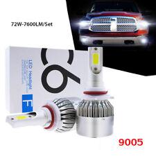 9005 LED Headlight Bulbs Kit High Beam for Acura NSX EL CSX TL CL RL MDX RDX TSX