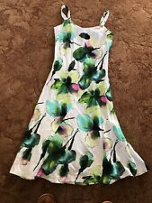 Mesdames Smart lin robe idéale mariage Croisière Taille 114r PER UNA