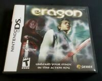 Nintendo DS Game Complete Plays Dsi Dsl 3DS ~ ERAGON ~ Magic Action RPG