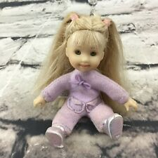 """Only Hearts Club Lil Kids Melody 4"""" Doll Blonde Soft Posable Body Cute Girl"""