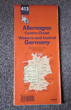 WESTERN & CENTRAL GERMANY  -  MICHELIN MAP  ,  SHEET 412