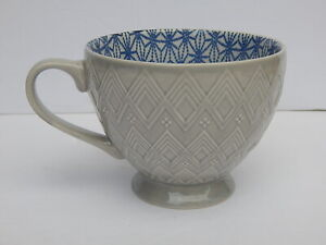SIGNATURE HOUSEWARES  FOOTED TEA COFFEE MUG NEW AUTHENTIC