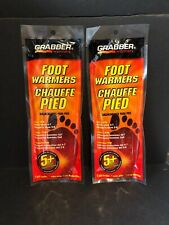 Grabber FWSMES Full Insole Foot Warmers, Small/Medium, 5+ Hours -- 2 Packs  NEW