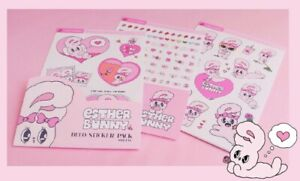 Official Estherlovesyou Esther Bunny X Punky Suga 4 Type Sticker 100% Authentic
