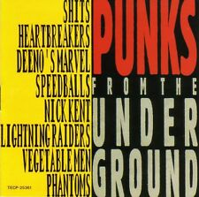 PUNKS FROM THE UNDERGROUND - SHITS / RAIDERS / PHANTOMS