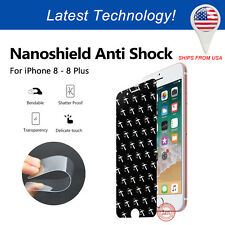 [2-PACK] iPhone 8 Nanoshield Hammer Anti Shock Screen Protector Shatter Proof