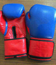 New Custom Hook&Loop Leather Boxing Gloves any logo or Name,no winning grant