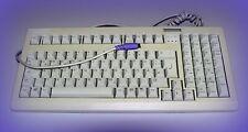 Cherry Tastatur Cherry G80-18xx PS2 Qualitativ hochwertige Deutsche Qwertz Grau