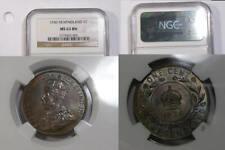 1936 NEWFOUNDLAND CENT NGC MS63 BN INV#364-B6