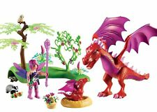 Playmobil Fairies Friendly Dragon With Baby Playset - 9134 One Size