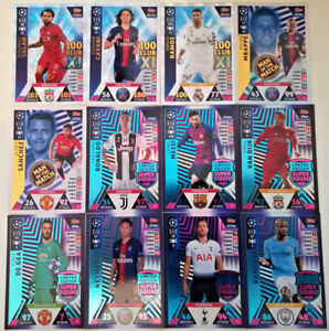 MATCH ATTAX CHAMPIONS LEAGUE 2018/19 18/19 100 CLUB LIMITED EDITION MEGA SIGNING