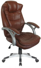 Luxus Chefsessel Bürostuhl Drehstuhl Schreibtischstuhl Sessel Stuhl braun NEU