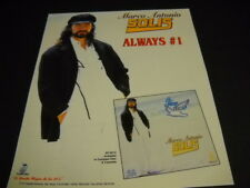 MARCO ANTONIO SOLIS Always Number One original 1996 Promo Poster Ad mint cond
