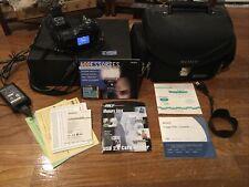Sony Dsc-F828 Digital Still Camera~Bag~Accessories Lot