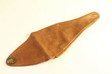 Antique 20s Dunhill Leather Holster Tobacco Pipe Pouch Sleeve Holder England