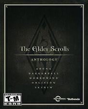 The Elder Scrolls: Anthology [PC-DVD-Computer, 5 Full Games, Open World Rollenspiel] NEU