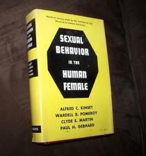 1953 SEXUAL BEHAVIOR IN THE HUMAN FEMALE KINSEY POMEROY FIRST EDITION PRINTING