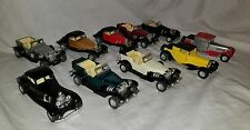 Lot Vintage Bugatti 1/43 Diecast Pull Back and Go Toy Car SS-311
