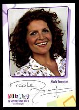 Nicole Berendsen Autogrammkarte Original Signiert ## BC 41295