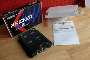 Kicker KX2 Two-Way Active Crossover Old School Sub Speaker Amp control NEW