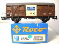 ROCO 46282 H0 Fahrradtransportwagen Puch der ÖBB Epoche 4/6 sehr gut in OVP
