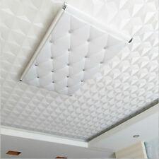 Wallpaper White Ceiling Diamond 3D Diamond Pattern Wallpaper Bedroom Living Room