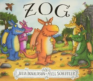 Zog by Julia Donaldson New - Paperback - Book