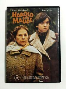 Harold and Maude - 1971 Cult Comedy-Drama - Ruth Gordon Bud Cort - RARE R4 DVD