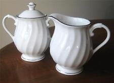 Syracuse WEDDING RING Creamer & Sugar Bowl w/ Lid Great Condition