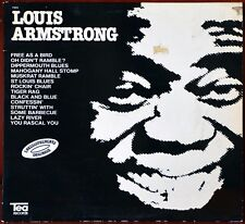 33t Louis Armstrong - Free as a bird (LP)