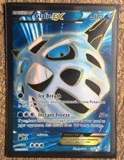 Pokemon Card   GLALIE EX  Ultra Rare FULL ART  155/162  BREAKTHROUGH ***MINT***