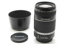 【Near MINT+】Canon EF-S 55-250mm f/4.0-5.6 IS Lens from Japan 1042
