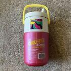 Coleman Vintage 2 Liter Jug Handle Pink Cool Essence Flip Spout 1993 5590A NEW