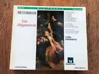 meyerbeer - les huguenots ( 4 disc set ) - made in germany