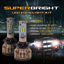 LED 80W 7800LM LED Kit CREE XT-E 6000K White Headlight Light - 9006 HB4 (B)