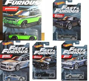 2021 Hot Wheels Fast & Furious Series Diecast Metal Cars 1:64 PRIORITY SHIPPING