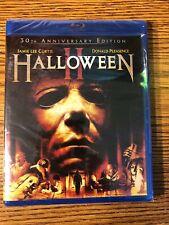 Halloween II 30th Anniversary Edition Blu-ray Michael Myers NEW SEALED 2 1981