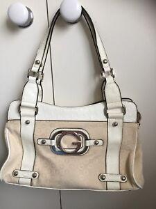 womens handbag Guess Original Brand  White/Cream very good condition