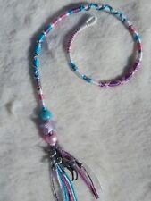 hair wrap, hair braid, unicorn, Tibetan silver, 21/25cm, clip or plait in, gift