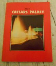 This is Caesars Palace Casino Memorabilia 1960's Booklet