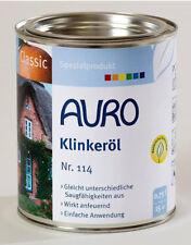 Auro Nr. 114 Klinkeröl 750ml Klinker Pflege Grundierung