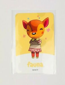 Amiibo NFC Karte Animal Crossing Fauna/Fatima 19