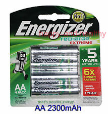 8 pcs x Energizer AA NiMH 2300mAh rechargeable battery Japan Made FREE tracking