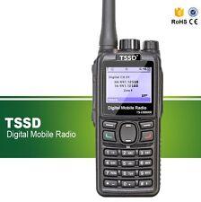 TSSD TS-D8800R Walkie Talkie UHF DMR & Analog Two Way Radio CTCSS/DCS USA