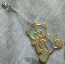 Yami Kawaii Menhera Teddy Bear Phone Key Charm Fairy Kei, Lolita, Pastel Goth