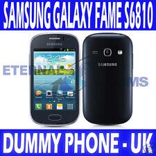Tout nouveau Samsung Galaxy Fame S6810 Téléphone affichage mannequin-Bleu foncé-uk vendeur
